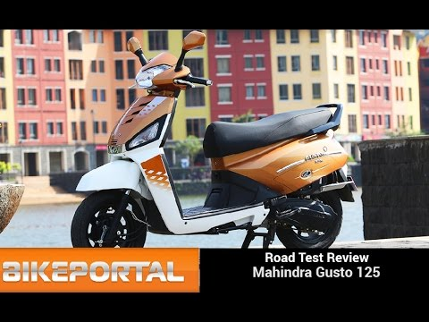 Exclusive - Mahindra Gusto 125 Test Ride Review - Bikeportal