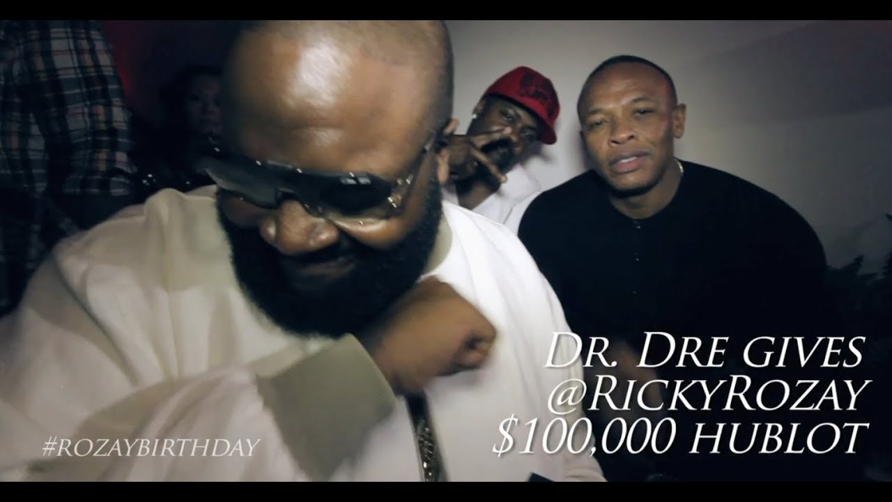 Download DR. DRE GIVES RICK ROSS $100,000 HUBLOT WATCH FOR HIS BIRTHDAY