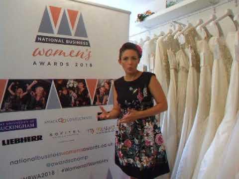 760194d54a5 National Business Women s Awards - Nicola Harris George James Bridal ...