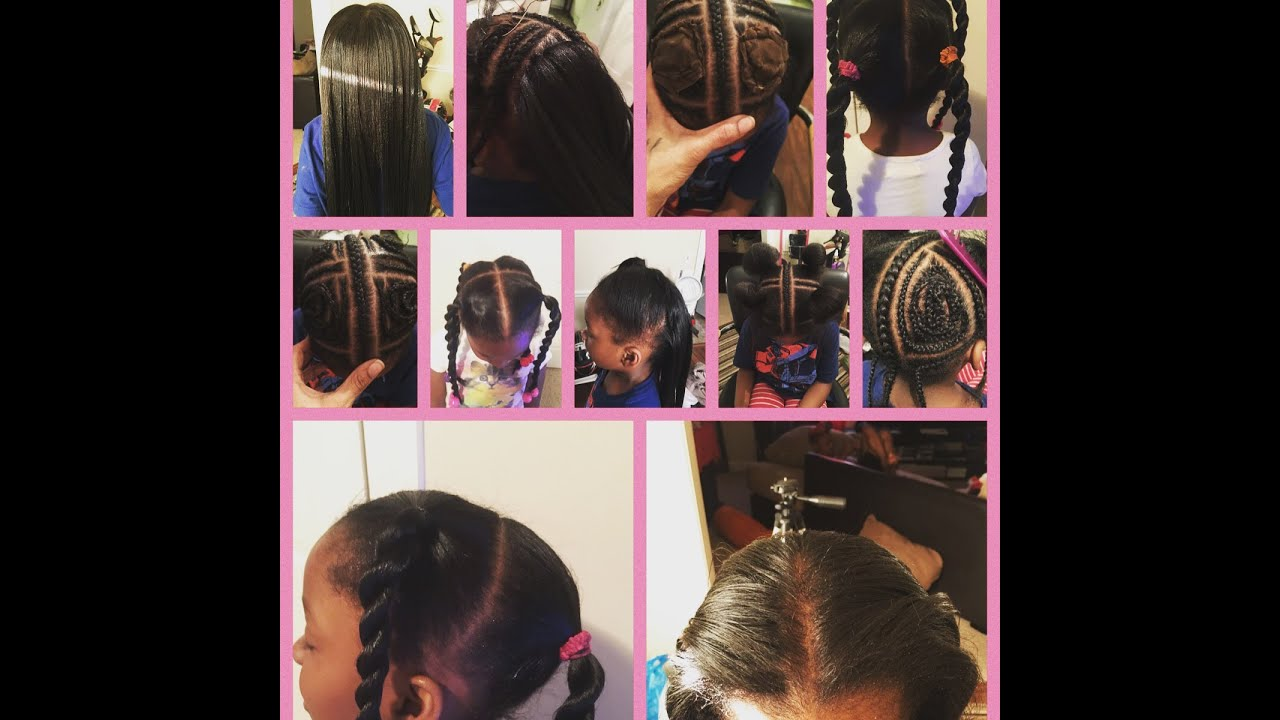 2016 New 4way Vixen Sew In For Little Girls