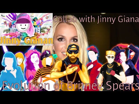 Britney Spears Evolution in Just Dance! (Collab With Russell Gianan)