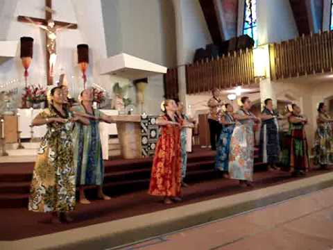 Leimomi Ho Hula Halau at St. Agustine
