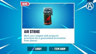 "NEW ""AIR STRIKE"" ITEM Gameplay! // 2300+ Wins // Use Code: byArteer (Fortnite Battle Royale LIVE)"