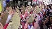 徳島阿波おどり振興協会早朝踊り2019 徳島駅前 流し踊り