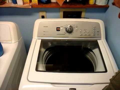 Our Failing Maytag Bravos Washer