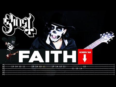 Ghost - Faith (Guitar Cover by Masuka W/Tab)