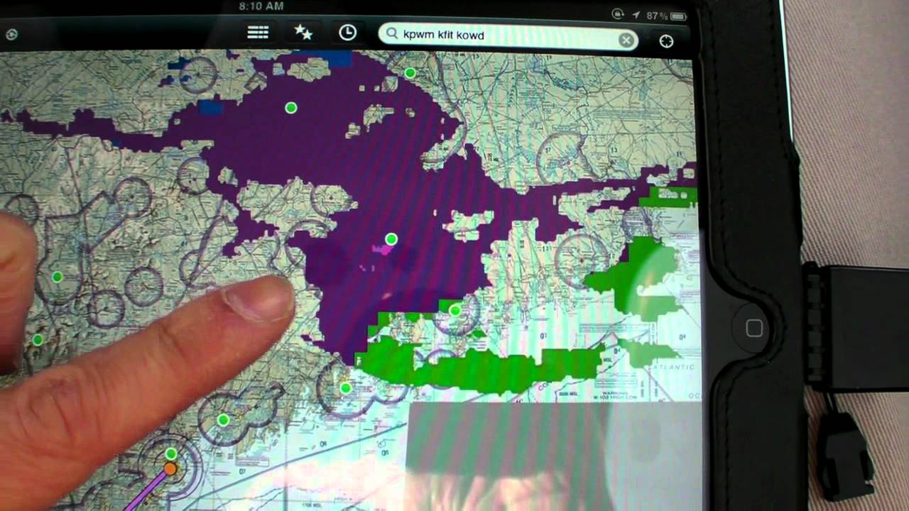 Ipad Datalink Weather Ads B Vs Xm