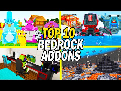 Top 10 Minecraft Bedrock Addons (Windows 10/MCPE - June 2021)