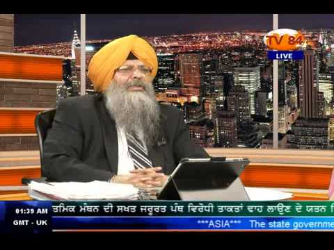 SOS 08 22 2013 Part 3 Dr. Amarjit Singh on  Is Dal Khalsa ,Gyani Zail Singh Sponsored Organisation ?