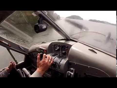 Dehavilland Beaver Flying with Mike Anderson of Air Cab Port Hardy British Columbia