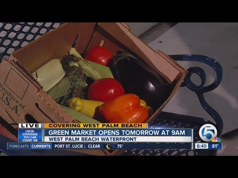 West Palm Beach Green Market back open this Saturday