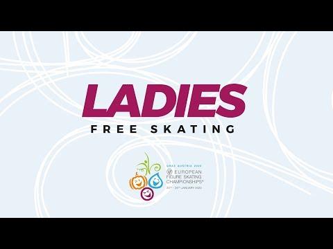 Ladies Free Skating | ISU European Figure Skating Championships | #EuroFigure