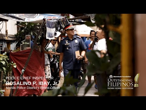 Manila Police District's Finest Officer PCI ROSALINO P. IBAY, JR.
