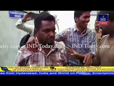 Hyderabad: Fake babas arrested, women garland shoes to fake baba in Asifnagar
