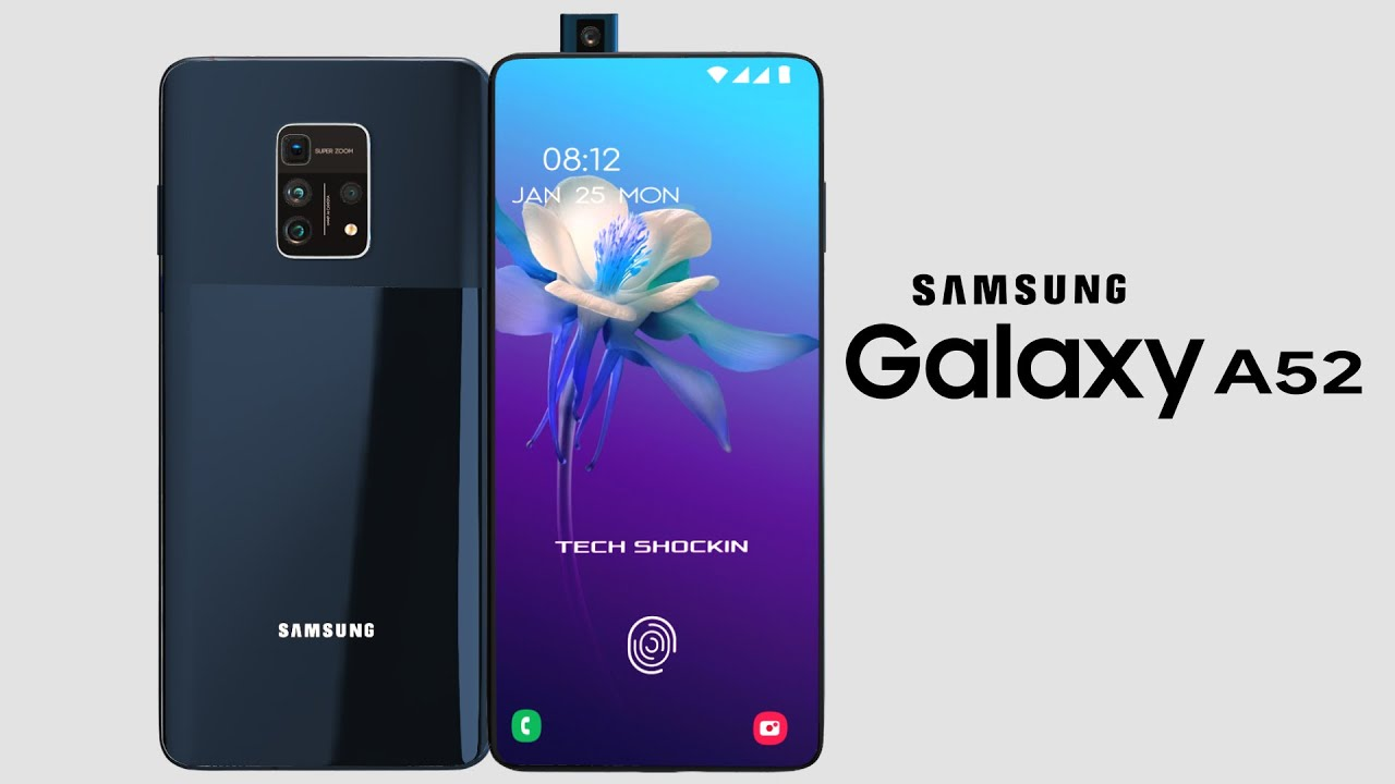 Samsung Galaxy A52 Trailer Concept Introduction 2020 Youtube