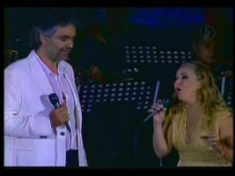 Alicia villareal feat andrea bocelli - Somos novios