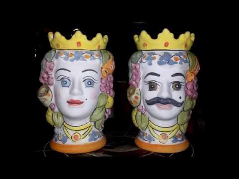 Ceramica - Decorazione Testa di Moro -