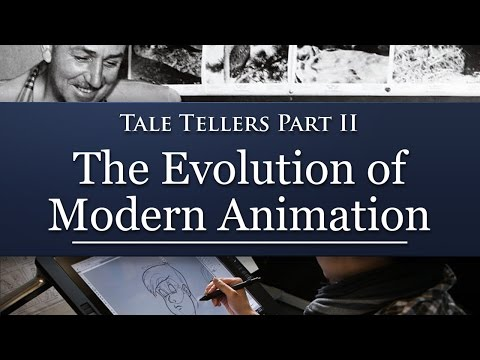 The EVOLUTION of MODERN ANIMATION