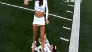 Cheerleaders in Slow Motion