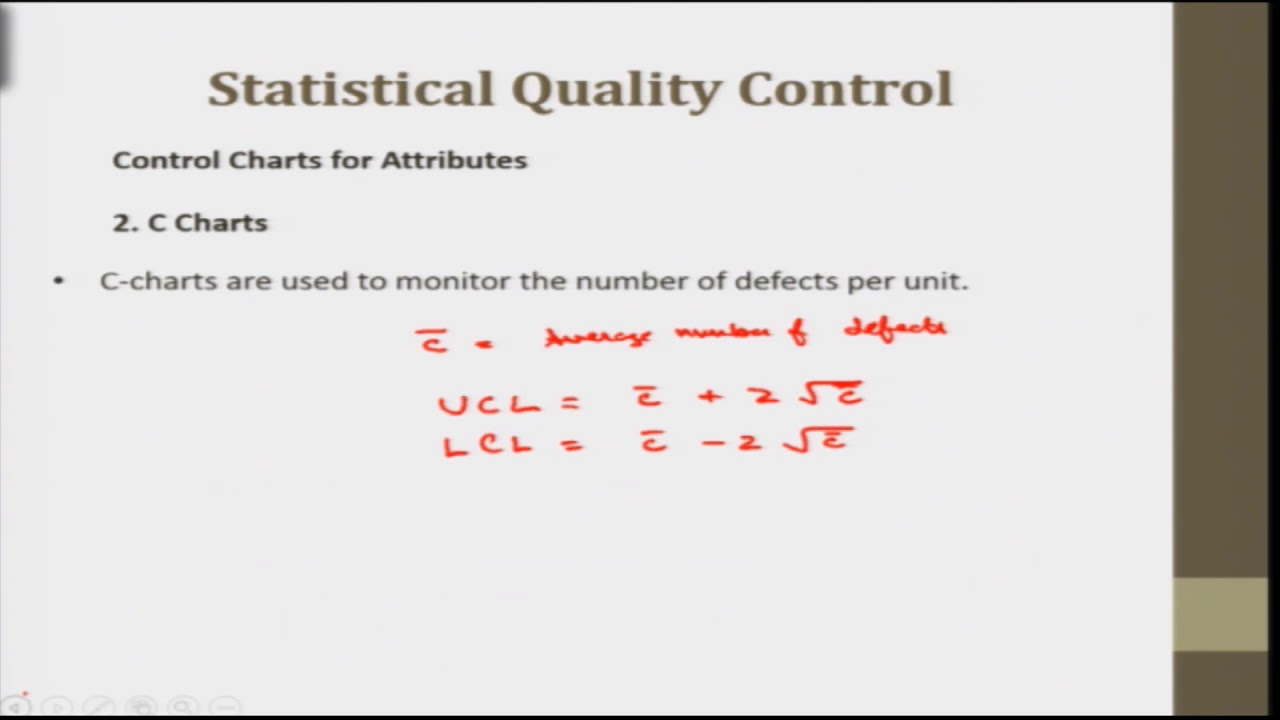 noc18-me62 Lec 48-Quality Control, control charts for attributes