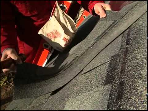Photovoltaic Roofing Shingles Installed