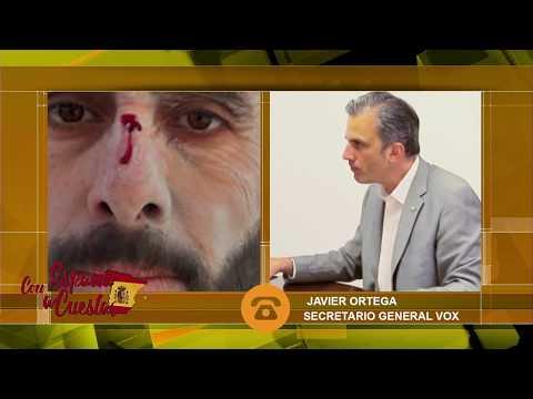 Javier Ortega: 'Con VOX las cosas no son como con el PP y C's, nos atacan. No nos vamos a callar'