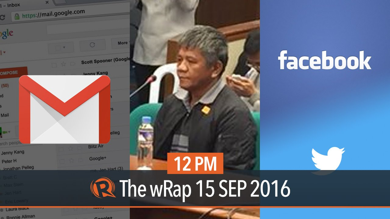 Davao Death Squad, Facebook vs fake news, Gmail for work   12PM wRap