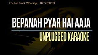 Bepanah Pyar Hai Aaja | Shreya Ghoshal | Unplugged Karaoke