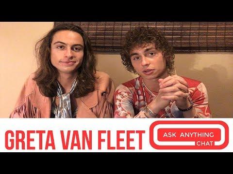 Greta Van Fleet Teaches Us About The 2 Kinds Of Groupies - YouTube
