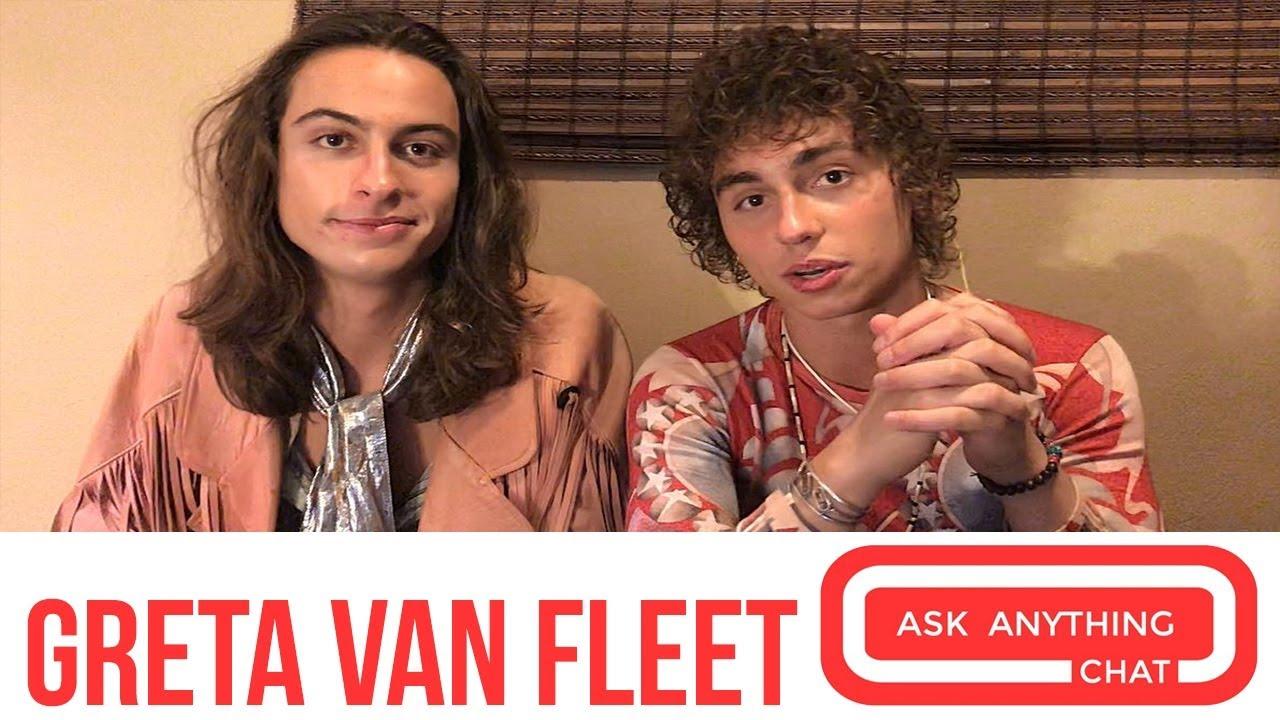 Greta Van Fleet Teaches Us About The 2 Kinds Of Groupies