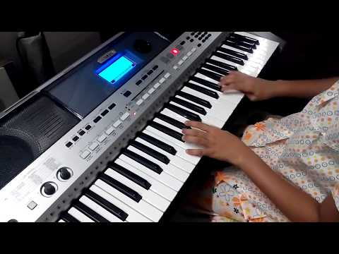 Jana Gana Mana, Cover on Keyboard by Harshvi