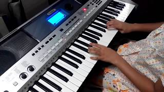 Jana Gana Mana, Cover on Keyboard by Harshvi