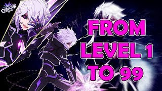 PsychoWeeb from level 1 to 99 in 5 hours!!!__ Elsword (Void)
