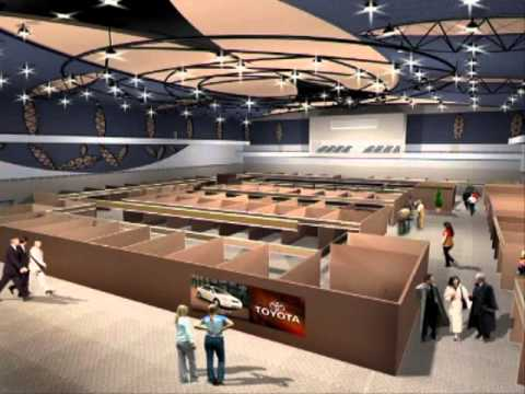 Swami Vivekananda International convention Centre, Mauritius-SVICC official 3D
