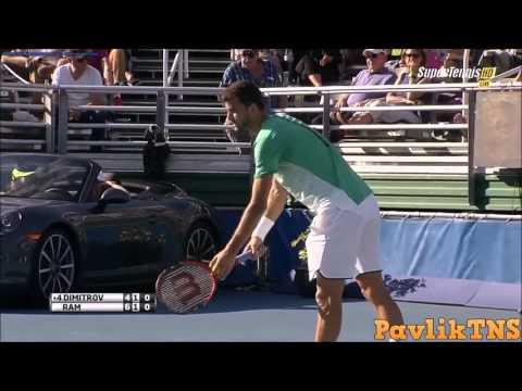 Grigor Dimitrov vs Rajeev Ram  Delray Beach Open 2016