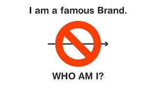 Original Visual Puzzles | Can you guess these famous Brands?