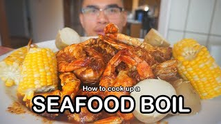 How to cook up a SEAFOOD BOIL