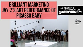 brilliant marketing jay z s art performance of picaso baby d a 75