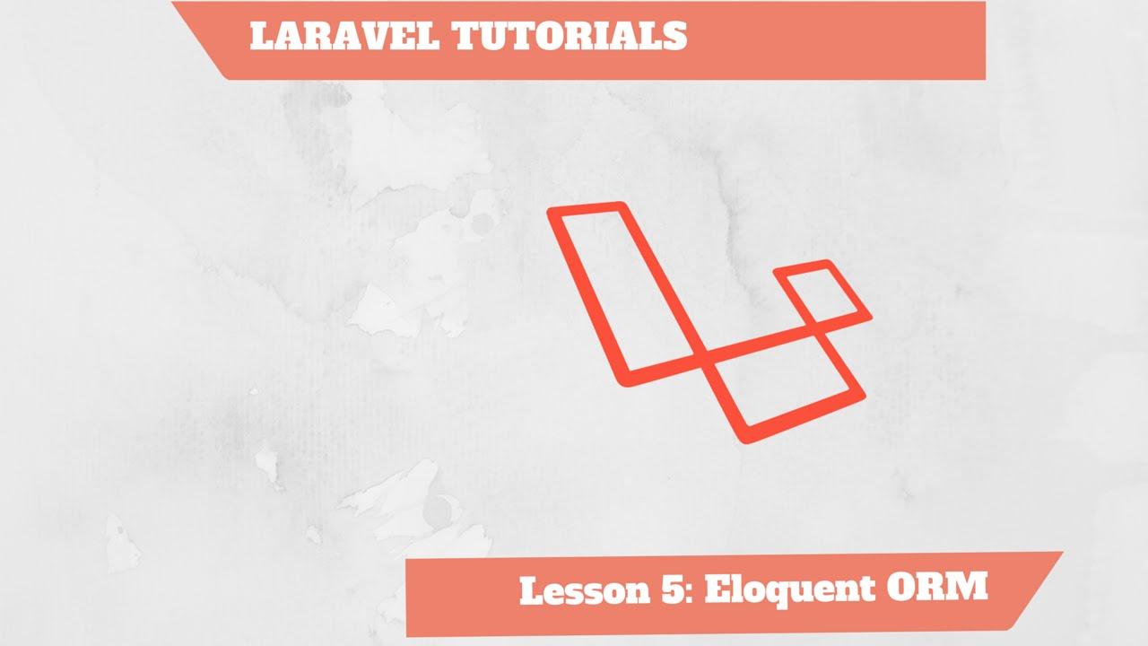 Laravel 4 5 PHP Framework Full Course