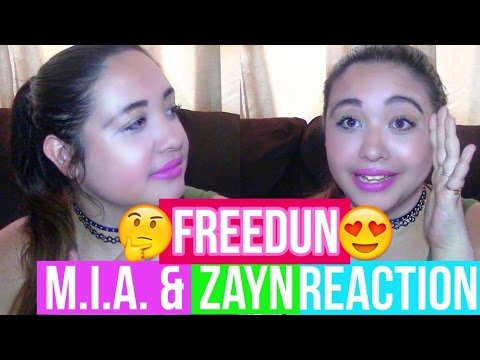 FREEDUN - M.I.A. FEATURING ZAYN MALIK (REACTION!!!)