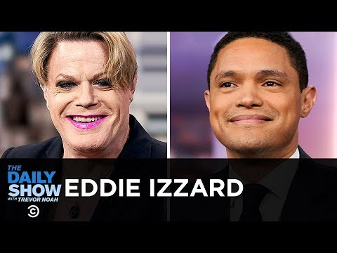 """Eddie Izzard - """"Wunderbar"""" And Moving From Comedy To Politics 