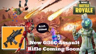 *FREE BACKBLING* + New AR??! (Fortnite: Battle Royale)