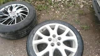 Смена дисков на Mazda 6 или что стало с низкопрофильной резиной(, 2016-09-15T13:05:12.000Z)
