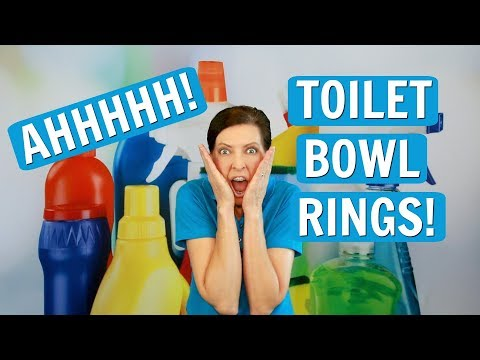 Toilet Bowl Ring - 3 Different Types (House Cleaning Secrets 2017)
