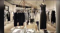retail clothing store fixtures,display showcase of clothes/display showcase design of clothes