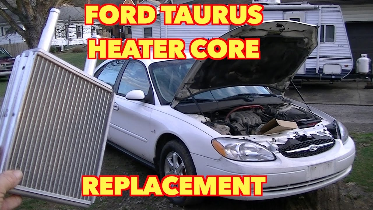 hight resolution of ford taurus heater core replacement its not that hard to do