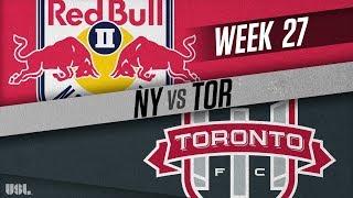 New York Red Bulls vs Toronto FC II: September 13, 2018