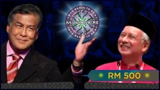WHO WANTS TO BE A MILLIONAIRE - NAJIB