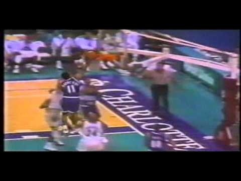 NBA Action top 10 blocks 1993-1994 NBA season