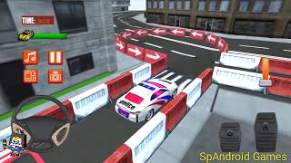 Police Car Parking Mania 3D - Police Modern Car Parking Simulator HD Games